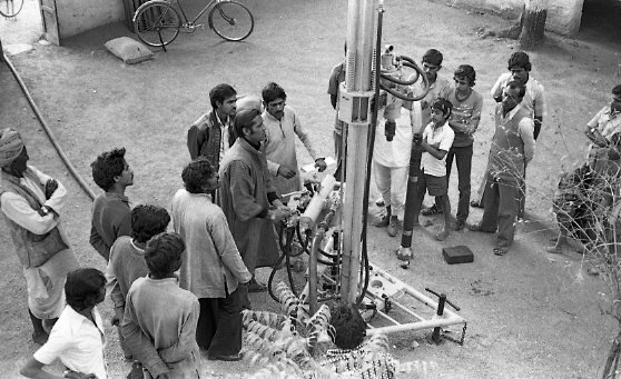 3500 Hand Pumps in 1000 villages with 500,000 people accessing drinking water