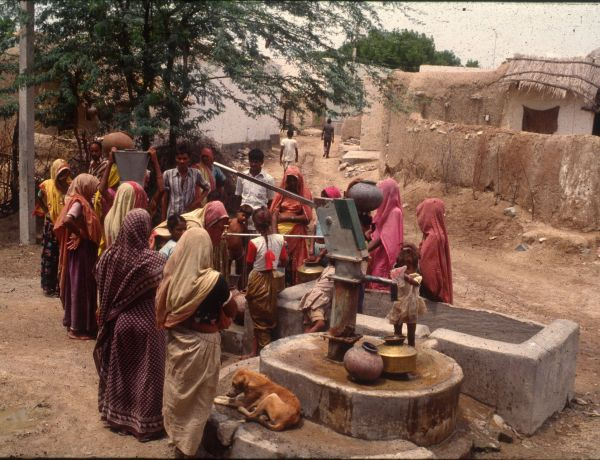 Community Based Piped Water Supply in 13 Villages providing drinking water to 10,000 people and 20,000 cattle.