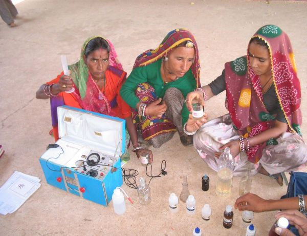 Water Mapping Potable Water Testing of 1000 drinking water sources in 200 villages covering 200,000 people